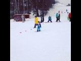 Полька в горнолыжной школе